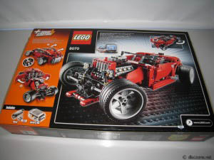 Lego 8070 Super Car Review!
