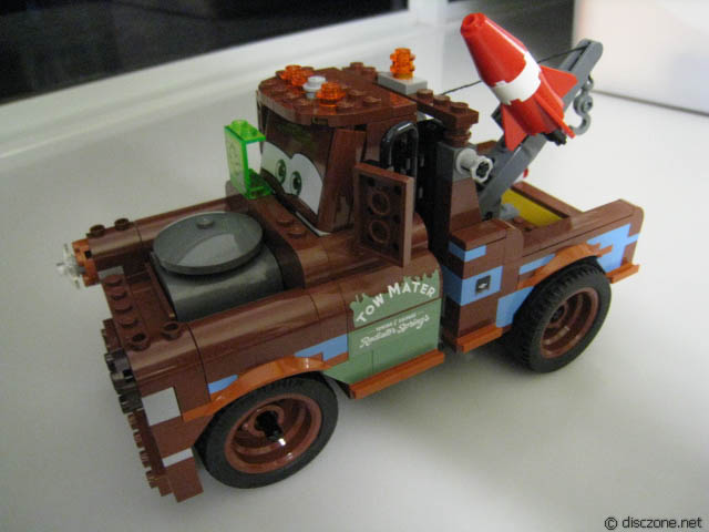 how to build lightning mcqueen l