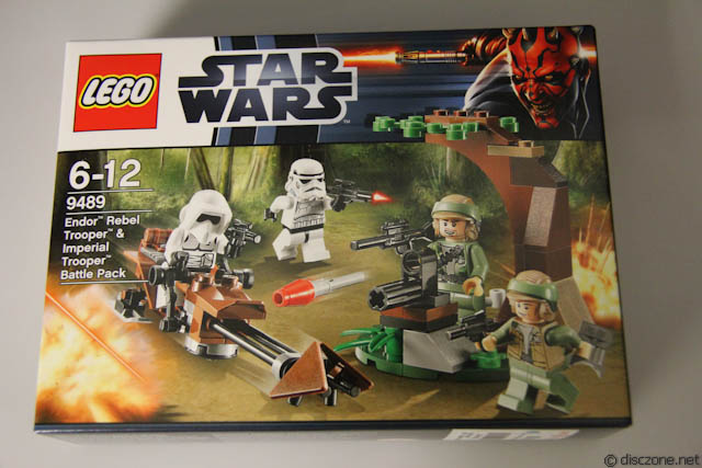 Lego Endor Rebel Trooper ...9489