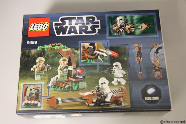 9489 LEGO Star Wars Endor Rebel et Imperial Trooper Neuf
