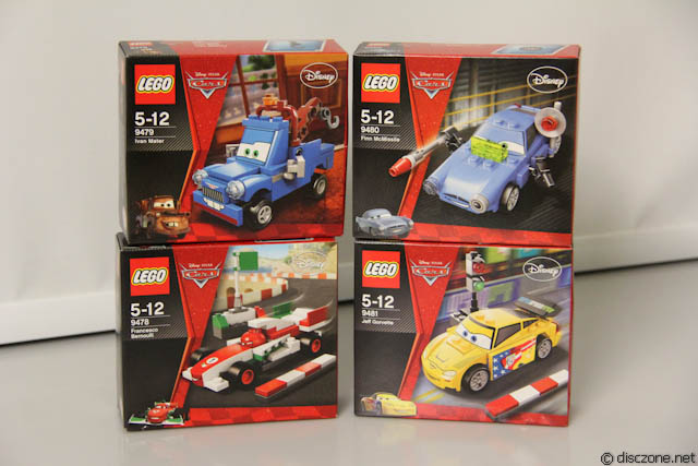 Review Of Lego 2012 Cars 2 Releases Part 1