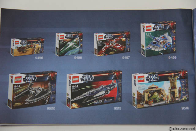 9498 Saesee Tiin's Jedi Starfighter - All the 2012 Sets