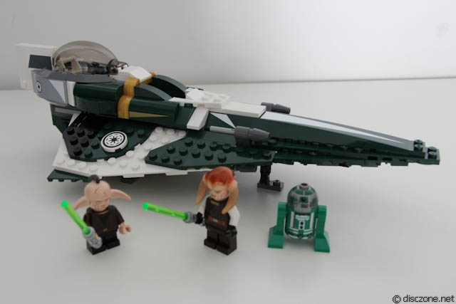 9498 Saesee Tiin's Jedi Starfighter - Completed