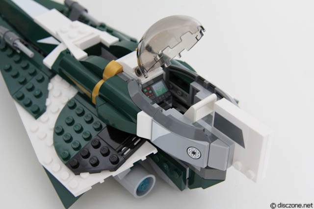 Review of 9498 LEGO Star War Saesee Tiin's Starfighter IMG_7030