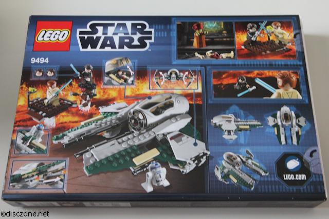 9494 Anakin's Jedi Interceptor - Box Rear