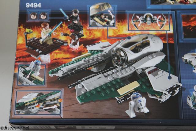 9494 Anakin's Jedi Interceptor - Fight Scene