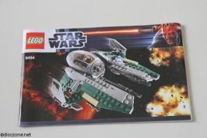9494 Anakin's Jedi Interceptor - Booklet