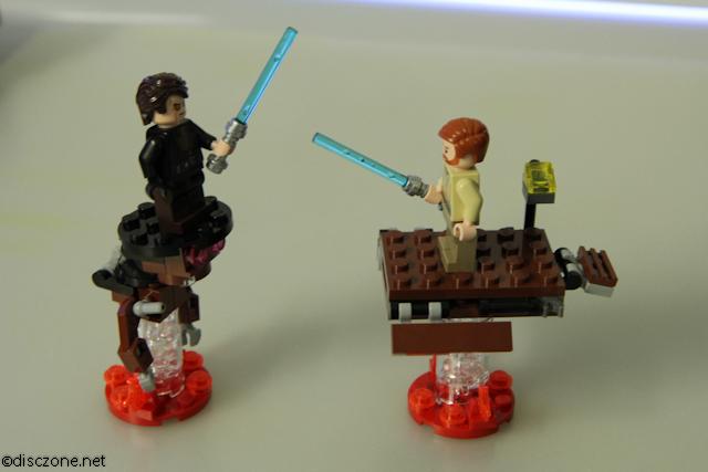 9494 Anakin's Jedi Interceptor - Fighting Scene