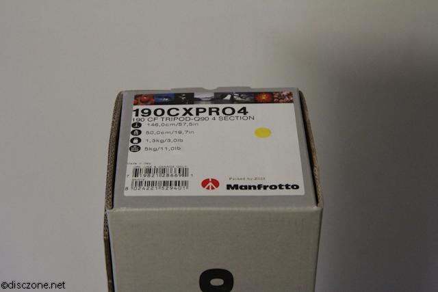 Manfrotto Hoots - 190CXPro4 Tripod Box