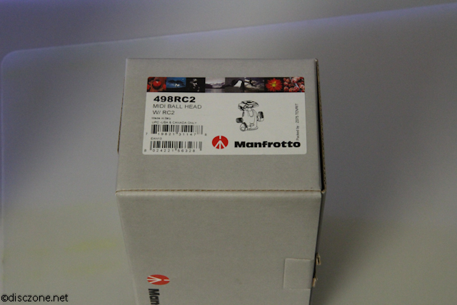 Manfrotto Hoots - 498RC2 Ball Head Box