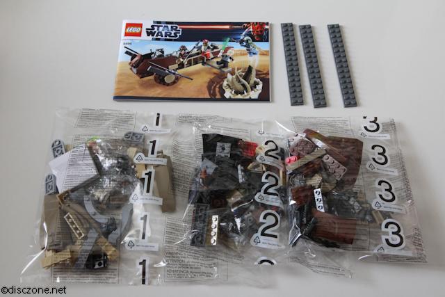 9496 Desert Skiff - Contents