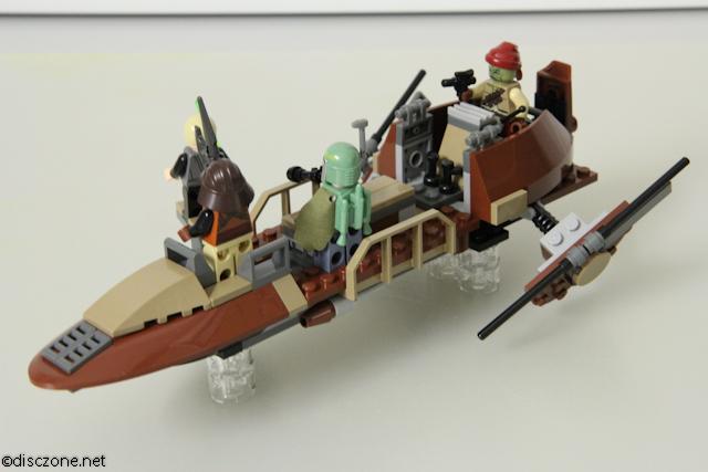 review of 9496 lego star wars desert skiff