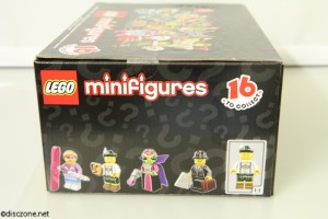 8833 Minifigures Series 8 - Side 2