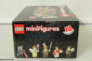 8833 Minifigures Series 8 - Side 3