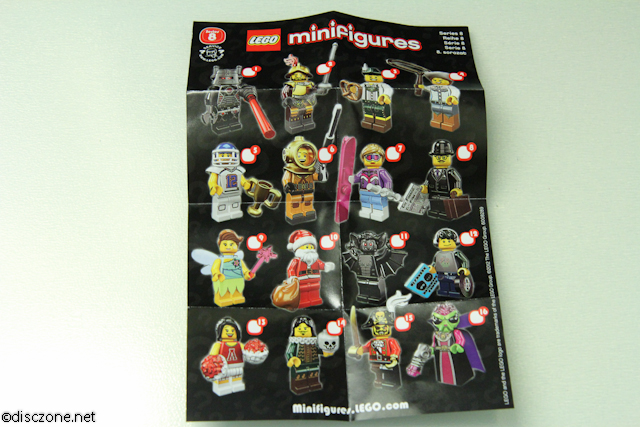 8833 Minifigures Series 8 - Instructions