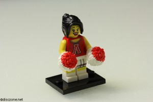 8833 Minifigures Series 8 - Cheerleader
