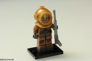 8833 Minifigures Series 8 - Diver