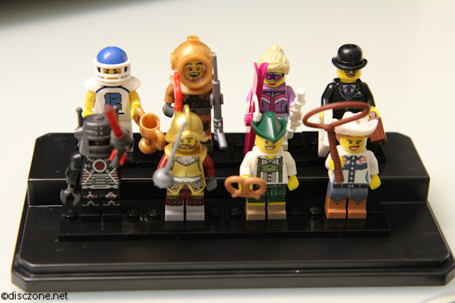 8833 Minifigures Series 8 - First 8