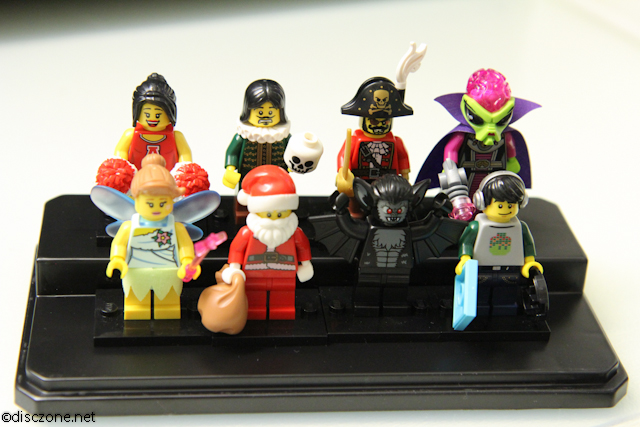 8833 Minifigures Series 8 - Next 8