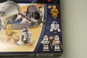 9490 Droid Escape - Box Front MiniFigures