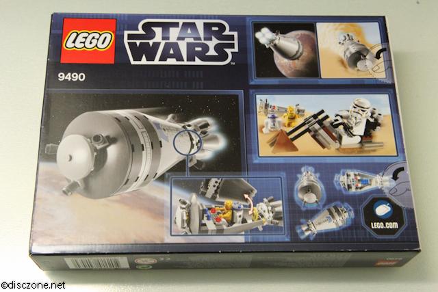 9490 Droid Escape - Box Rear