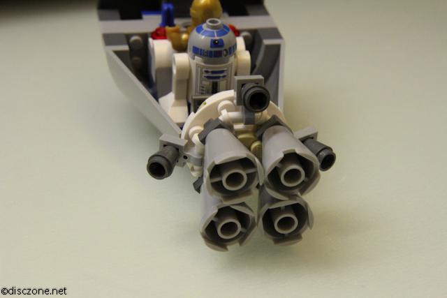 9490 Droid Escape - Rear Engine