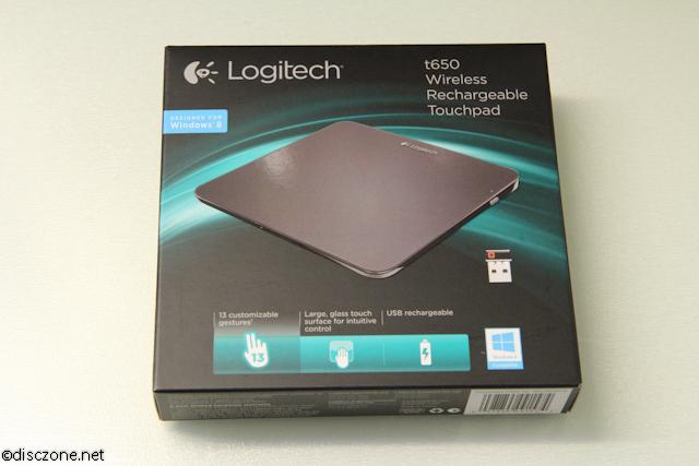 Logitech T650 Touchpad - Box Front