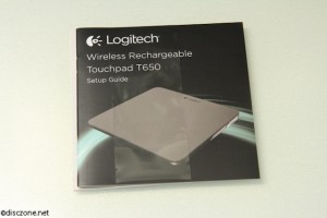 Logitech T650 Touchpad - Instructions