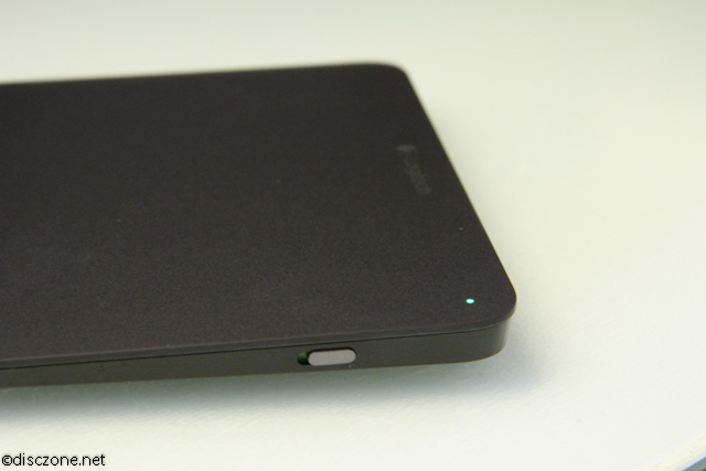 Logitech T650 Touchpad - Power On