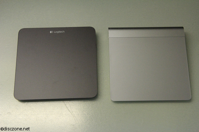 Logitech T650 Touchpad - Compared with Apple Magic Pad 1