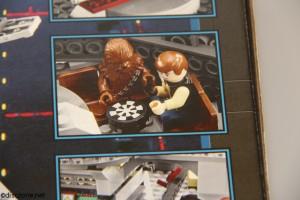 7965 Millennium Falcon - Box Scenes 1