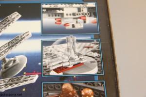 7965 Millennium Falcon - Box Scenes 2
