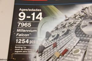 7965 Millennium Falcon - Number of Pcs