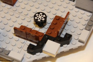 7965 Millennium Falcon - Seats