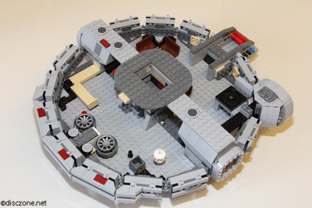 7965 Millennium Falcon - Interior Up