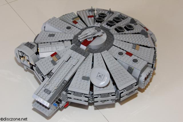 7965 Millennium Falcon - Top Ready