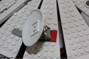 7965 Millennium Falcon - Satelliate Dish
