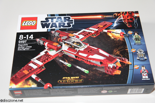 9497 Republic Striker-class Starfighter - Box Front