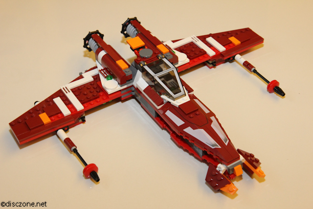 9497 Republic Striker-class Starfighter - Craft Opened
