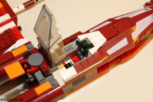 9497 Republic Striker-class Starfighter - Cockpit