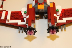 9497 Republic Striker-class Starfighter - Rear