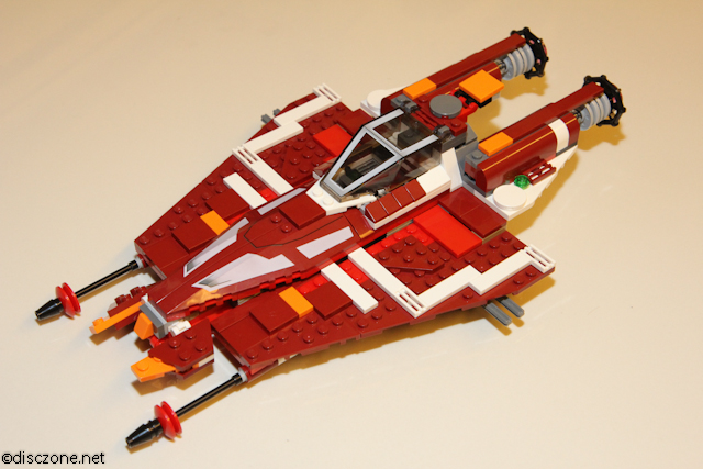 9497 Republic Striker-class Starfighter - Craft Closed