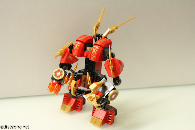 70500 Kais Fire Mech - Fire Mech Side
