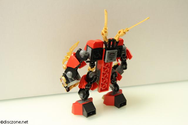 70500 Kais Fire Mech - Fire Mech Rear