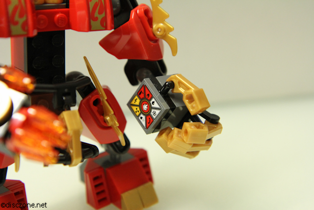 70500 Kais Fire Mech - Fire Mech Left Arm