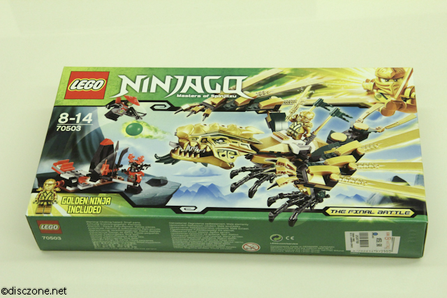 70503 The Golden Dragon - Box Front