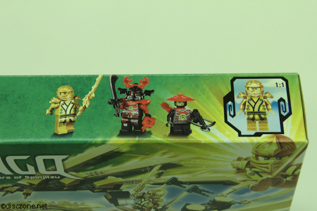 70503 The Golden Dragon - Box MiniFigures