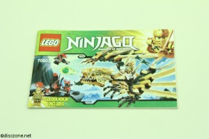70503 The Golden Dragon - Instructions