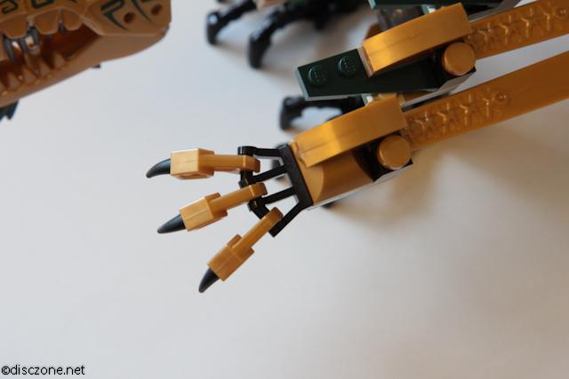 70503 The Golden Dragon - Golden Dragon Craws