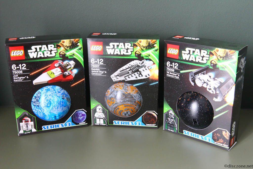 Lego Star Wars Planet Series 3